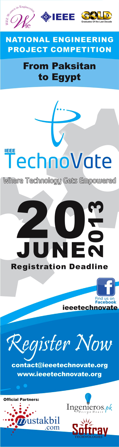 Mustakbil.com Partners With IEEE For IEEE TechnoVate 2013