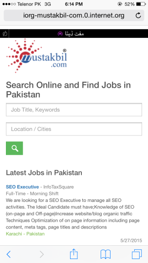 Start Job Search